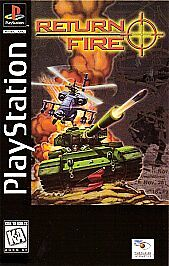 Return Fire PlayStation 1 PS1 Game Disc Only PS2 PS3 Play Station 2 3