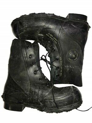 Genuine U.S. Military Issue, Mickey Mouse Extreme Cold Weather Boots, Waterproof