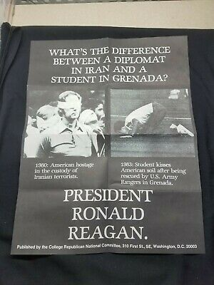 RONALD Reagan Presidential Election Poster - Republican National Committee  Iran