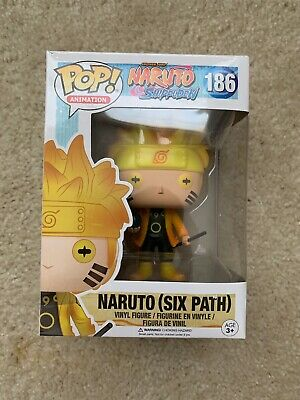Funko POP! Naruto (Six Path) #186 Glow In The Dark Hot Topic (No Sticker)