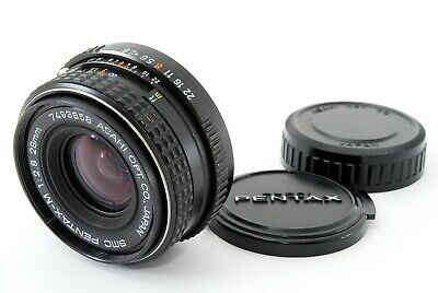 [ Near MINT ] PENTAX SMC Pentax-M 28mm f/2.8 35mm SLR MF Wide Angle Lens JAPAN