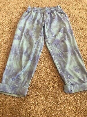 Ivivva by Lululemon Purple Tie Die Girls Track Athletic Pants sz 10