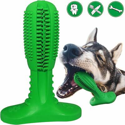 Dog Toothbrush StickPuppy Dental Care Brushing Chew Toys Effective Doggy Teeth C