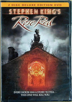 STEPHEN KING'S  Rose Red 2 Disc Deluxe Edition DVD OOP NEW SEALED