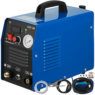 CUT-50 DC Inverter DIGITAL Air Plasma Cutter 50A Cutting Machine & Accessories