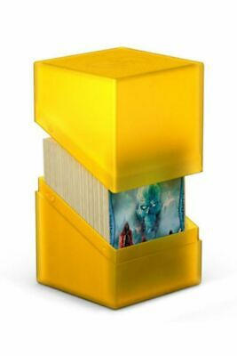 Ultimate Guard - Boulder Deck Case 100+ Amber - Gaming Card Box for Archive