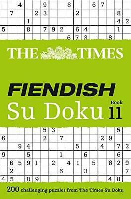 The Times Fiendish Su Doku Book�11: 200 Challenging Puzzles from the Times