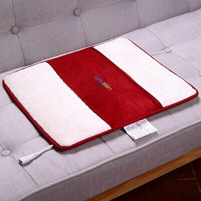 Electric Heated Pad Waist Back Heating Mat Cushion Pain Relief Body AU