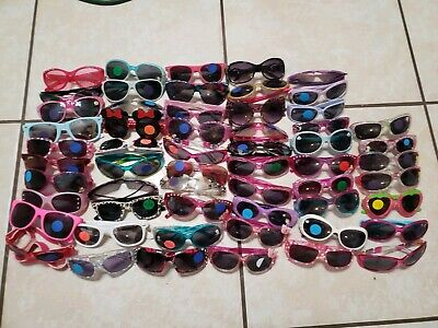 Lot of 57 disney Sunglasses kids girl's disney minnie Mouse tinkerbell princess