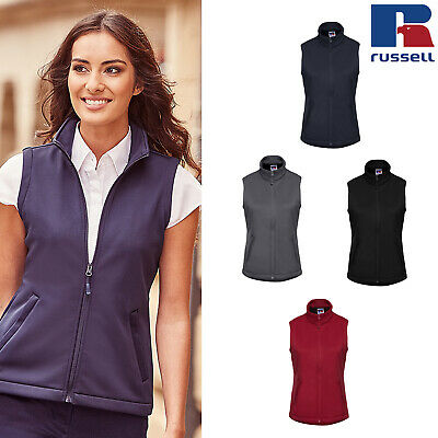 Russell R041F Ladies Smart Softshell Fleece Gilet Warm Jacket Bodywarmer XS-Med