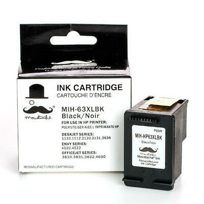Black ink for HP 63XL 4520 4522 3830 3831 3832 3834 4650 3636 3634 3633 3633