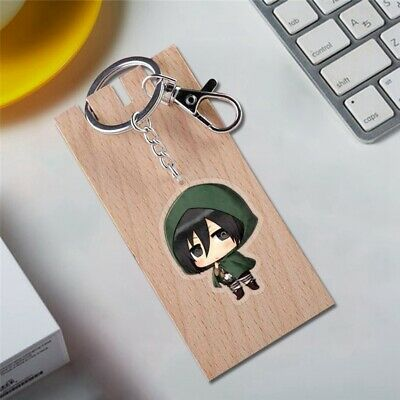 Anime Periphery Attack On The Giant Acrylic Keychain Transparent Pendant Useful