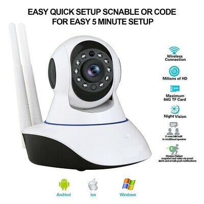 1080P WIRELESS WIFI Video IP Camera HD 2MP CCTV Outdoor IP66