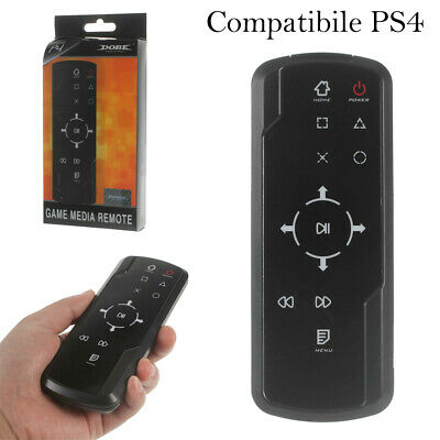 Telecomando remoto PS4 game media remote Bluetooth 3.0 wireless console Blu-Ray