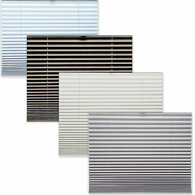 Made to Measure Thermal Blackout Pleated Blinds, Easy Fit Conservatory Blinds