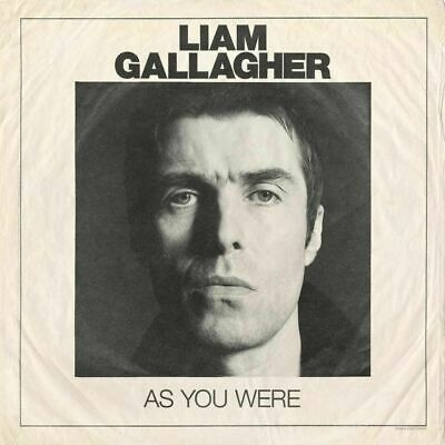 """Liam Gallagher """"As You Were"""" Brand New Sealed Cd Album  +Sale+"""