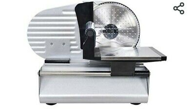CASART Electric Food Slicer Machine with 160W Electric Motor & Removable Blade,