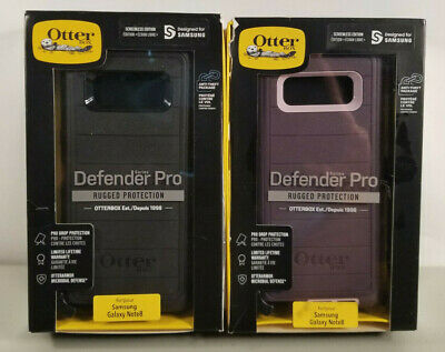 NEW Rugged Case by Otterbox Defender PRO for Samsung Galaxy Note 8 COLORS