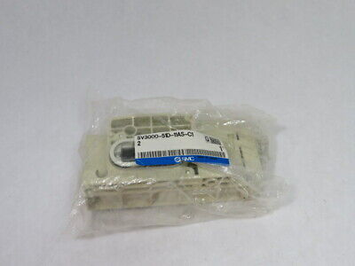 SMC SV3000-51D-11AS-C12 End Block  NEW