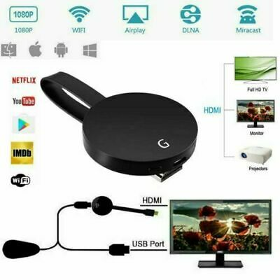 For Chromecast 4rd Generation HD 1080P Digital HDMI Media Video Streamer Player&