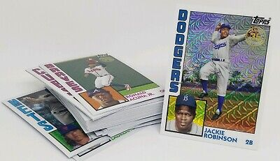 2019 TOPPS SERIES 1 SILVER PACK SINGLES 1984 Chrome You Pick & Complete Ur Set