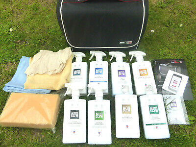 Autoglym Life Shine Delux  Car Cleaning Valeting Kit In Case Bmw,Audi,Mercedes