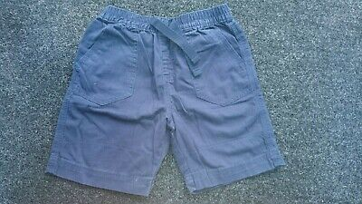M&Co Boys Navy Blue Shorts Age 2-3 Years