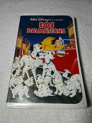 101 Dalmatians [VHS, 1992] (Complete In Box) 《FAST WORLDWIDE SHIPPING!!!》