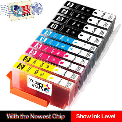 LOT INK For HP 564XL Ink Cartridge Photosmart 6510 6520 7510 7520 5510 B010a