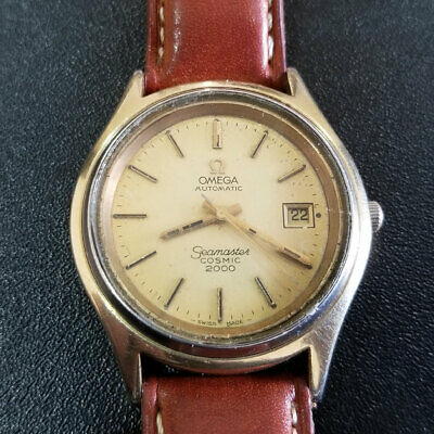 Omega Seamaster Cosmic 2000 Cal. 1012 Automatic Working Wrist Watch Vintage Rare
