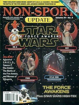 Non Sport Update - Star Wars - The Force Awakens Cover + The Hobbit - No Cards