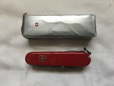 Victorinox Deluxe Tinker Swiss Army Knife, Red Multi-Tool: 53481