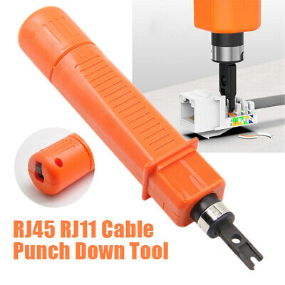 RJ45 RJ11 Network Cable Crimper Cut Off Wire Punch Down Cable Ermination Tool