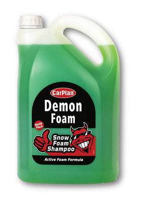 CarPlan Demon CDW005  Snow Foam Car Shampoo 5 Litre Refill