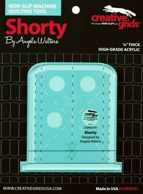 Angela Walters Machine Quilting Tool  - Shorty made by Creative Grids - CGRQTA1