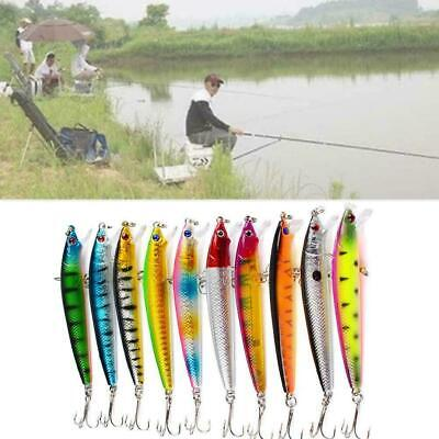 Fishing Lure For Fishing Minnow Bait Artificial Metal Fishing Iron Bait N0X4