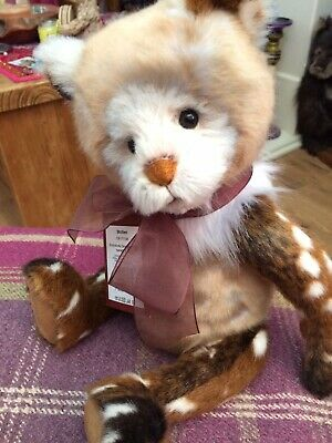 Charlie Bears Stollen Retired Qvc Special Perfect Condition
