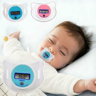Portable Digital Dummy Soother Pacifier Baby Toddler Child Oral Thermometer New