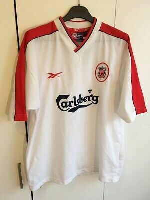 super popular 2aefb dc72f RARE VTG 90S Reebok Liverpool Alternate Jersey Soccer ...