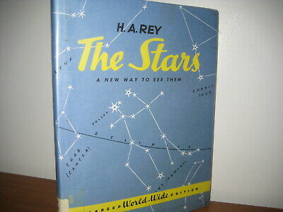 The Stars new way to see them/ Rey/ hardback/ jacket/1980/ enlarged edition/1962