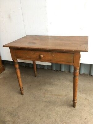1920's Pine Kitchen Table