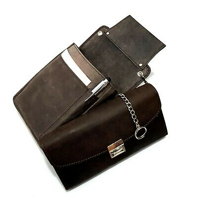 Real Leather Waiter Wallet Waiter's Money Pouch Holster