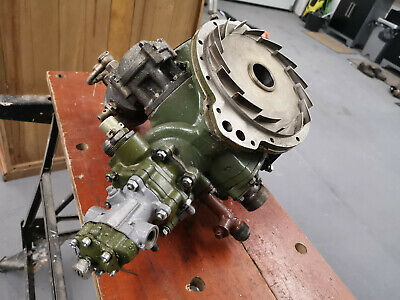 Russian Vedeneyev M14 Radial Aircraft Engine 9 Cylinder Magneto Drive Assembly