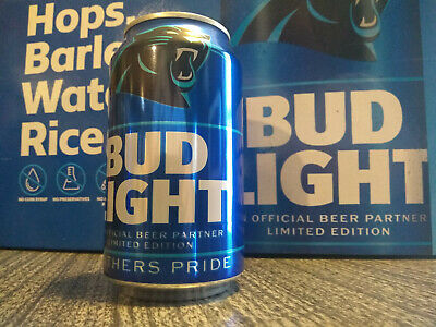 1 Carolina Panthers 2019 Limited Edition Bud Light Beer CanFull Sealed NFL