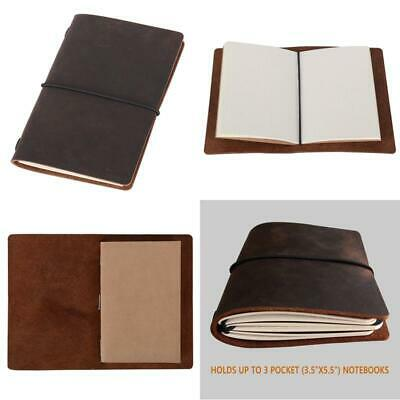 Field Notes Cover - Dotted Leather Journal 3.5 X 5.5 Travelers Notebook (64 Page