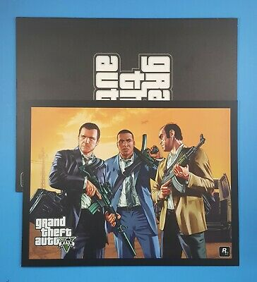 OFFICIAL GRAND THEFT AUTO iFruit MOUSE PAD from GTA V - mouse mat by