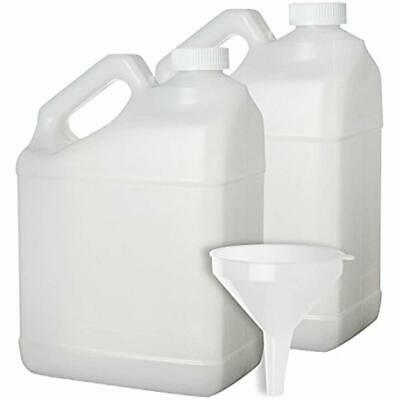 2 Pack - 1 Food Storage & Organization Sets Gallon Plastic Bottle Large Empty In