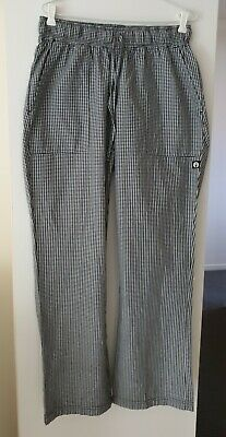 Chef Works - Womens Size L Large - Baggy Uniform Chef Pants Hospitality Trousers