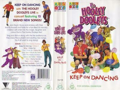 The Hooley Dooleys Keep On Dancing Vhs Pal Video~ A Rare Find