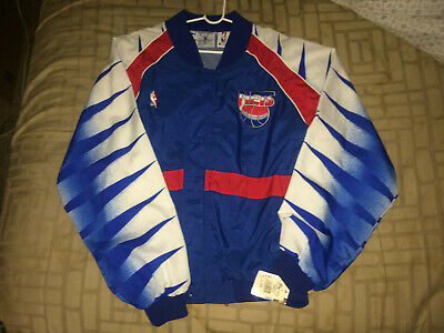 competitive price 916ed 338e8 DEADSTOCK NWT VINTAGE 90s New Jersey Nets Champion Warm Up L Jacket Durant  Kyrie
